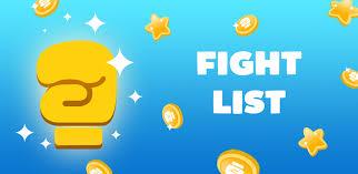 fight list para pc